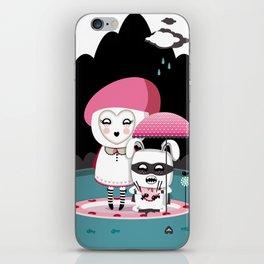 Super Tofu Boy and Sweet Sweet Tofu iPhone Skin