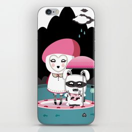 Super Tofu Boy and Sweet Sweet Tofu iPhone Skin