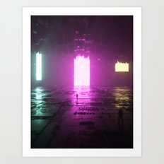 Light Bars Art Print