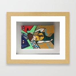 cubisme Framed Art Print