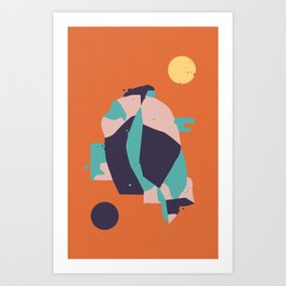 Lifeform #1 Art Print