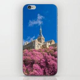 Mont Saint-Michel Abbey - Pink Fantasy iPhone Skin