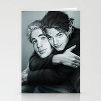 stucky Stationery Cards featuring Everlasting Love by Anne the Viking