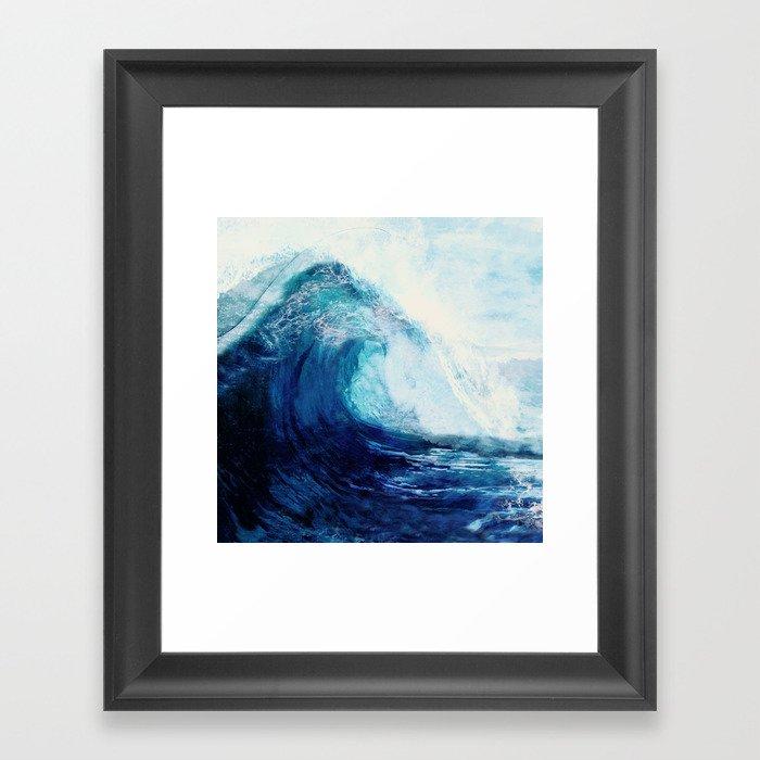 Waves II Gerahmter Kunstdruck
