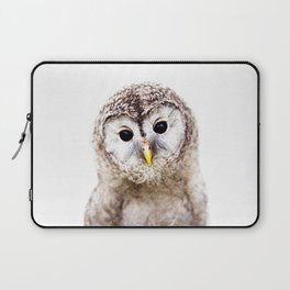 Baby Owl, Baby Animals Art Print By Synplus Laptop Sleeve