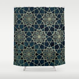 The Heart of the Alhambra Shower Curtain