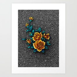 Mama's Garden - Gray Kunstdrucke