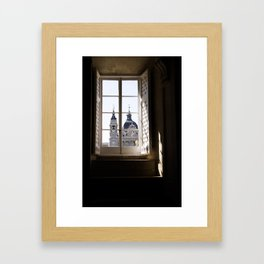 A Window to the Past Framed Art Print