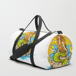Mermaid Duffle Bag