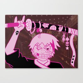 Katana Bling Canvas Print