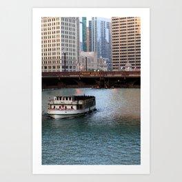 Riverwalk - Chicago, Illinois Art Print