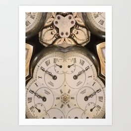 Tic Toc Art Print