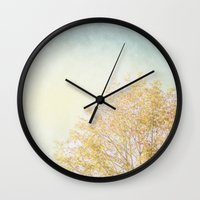 aelwen Wall Clocks featuring Tree by Pure Nature Photos