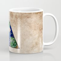 all seeing eye Mugs featuring All Seeing Eye by Spooky Dooky
