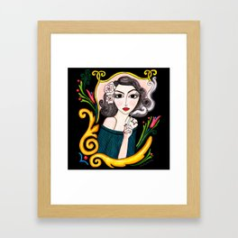 Tita #A10 Framed Art Print