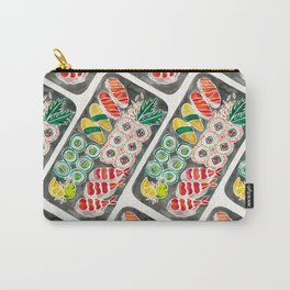 Sushi Collection – Black Platter Carry-All Pouch