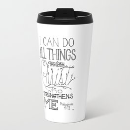 I Can Do Travel Mug