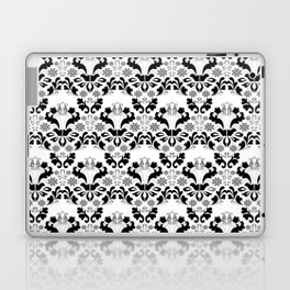 Abstract seamless black and grey ornament Laptop & iPad Skin