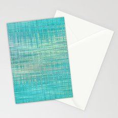 Abstract Blue Pastel Stationery Cards