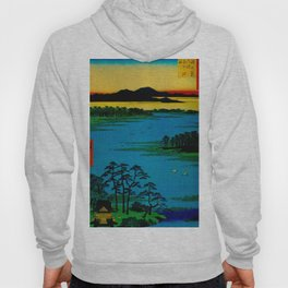 Sunset Contemplative Landscape Hoody