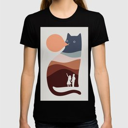 Cat Landscape 35 T-shirt