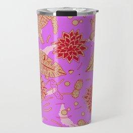 Warm Flower Travel Mug