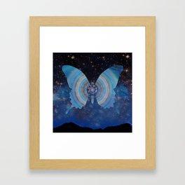 Stellar Butterfly Framed Art Print