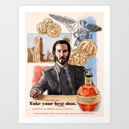 Take Your Best Shot Art Print