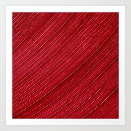 red leaf I Art Print