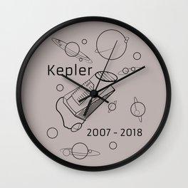 Kepler Space Telescope. 2007 - 2018. Wall Clock
