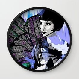 Louise Brooks:  We'll Always Have Paris Wall Clock