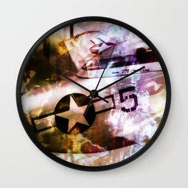 """Red Tales: Ground Patrol"" Wall Clock"