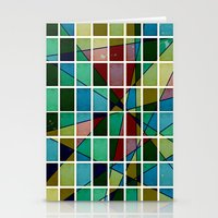 mosaic Stationery Cards featuring Mosaic by Tammy Kushnir