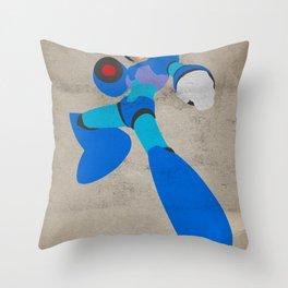 Buster B.A. (Megaman) Throw Pillow