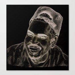 ChrisBrown Dots Canvas Print