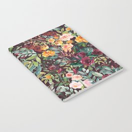 Fall Floral Notebook