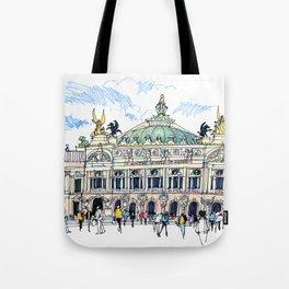 Palais Garnier, Paris Tote Bag