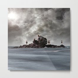 Beware the Sirens Metal Print