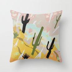 Desert Dream Design Throw Pillow