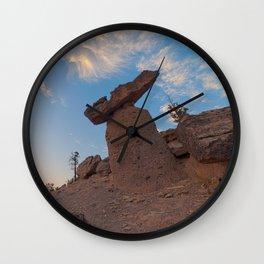 Balancing Rocks Wall Clock