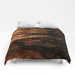 Lake Powell Copper Water Comforters