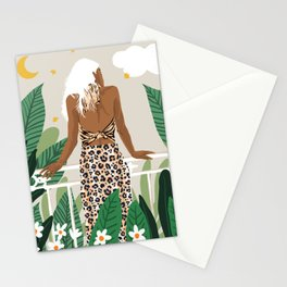 Trust the wait. Embrace the uncertainty. Enjoy the beauty of becoming. Stationery Cards