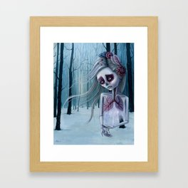 Beautiful decay of life Framed Art Print