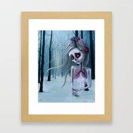 Beautiful decay of life Framed Art Print