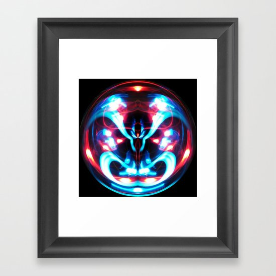 Sphere I (Staring) Framed Art Print