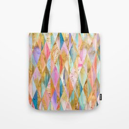 Justine Abstract Brushstrokes Pattern Tote Bag