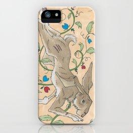 Spiel Mit Mir: Kaninchen iPhone Case