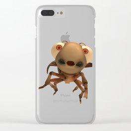 Run Cricket Run - Flying Cricket Clear iPhone Case