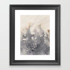 November morning 5 Framed Art Print