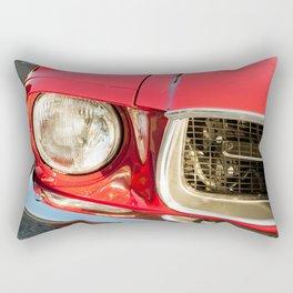 Vintage american car detail Rectangular Pillow